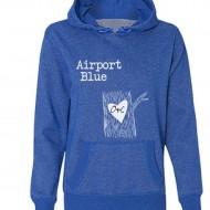 Airport Blue Hoodie